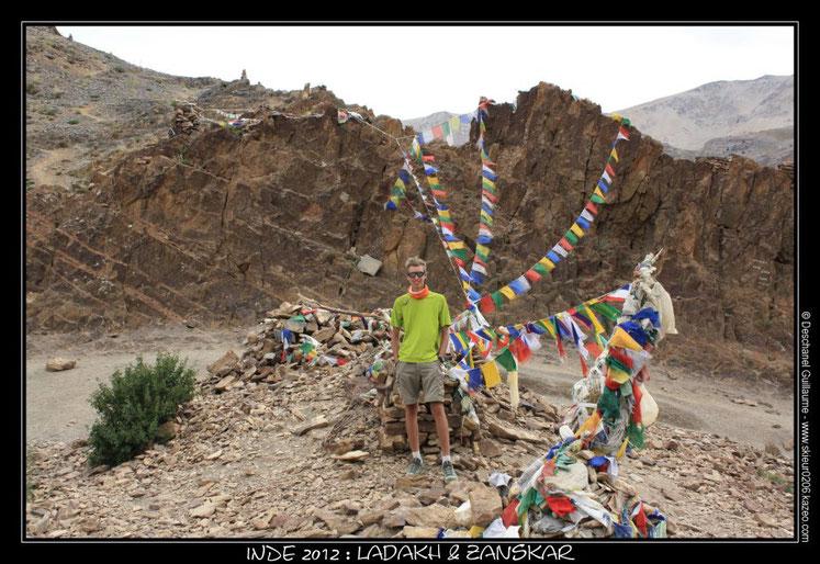 Voyage en Inde - Himalaya : 14 août 2012 : Trek Zanskar & Ladakh : Etape 13 : Hanumil - Parfi La (3970 m) - Snertze (3830 m)
