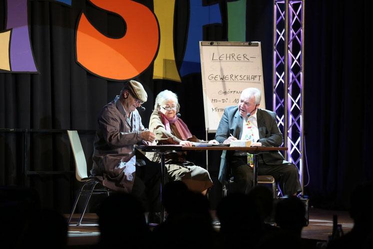 """""""Die Lehrergewerkschaft"""" mit Fritz Linko, Traudl Stopper, Peter Lanz, u.a."""