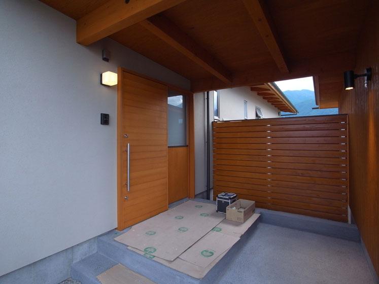 長野県 松本市 建築設計事務所 建築家 news設計室 丸山和男 住宅設計 設計監理 穂高有明の家Ⅴ 移住者の家 完了検査