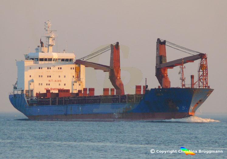 Schwergutfrachter JULE, Reederei Heino Winter