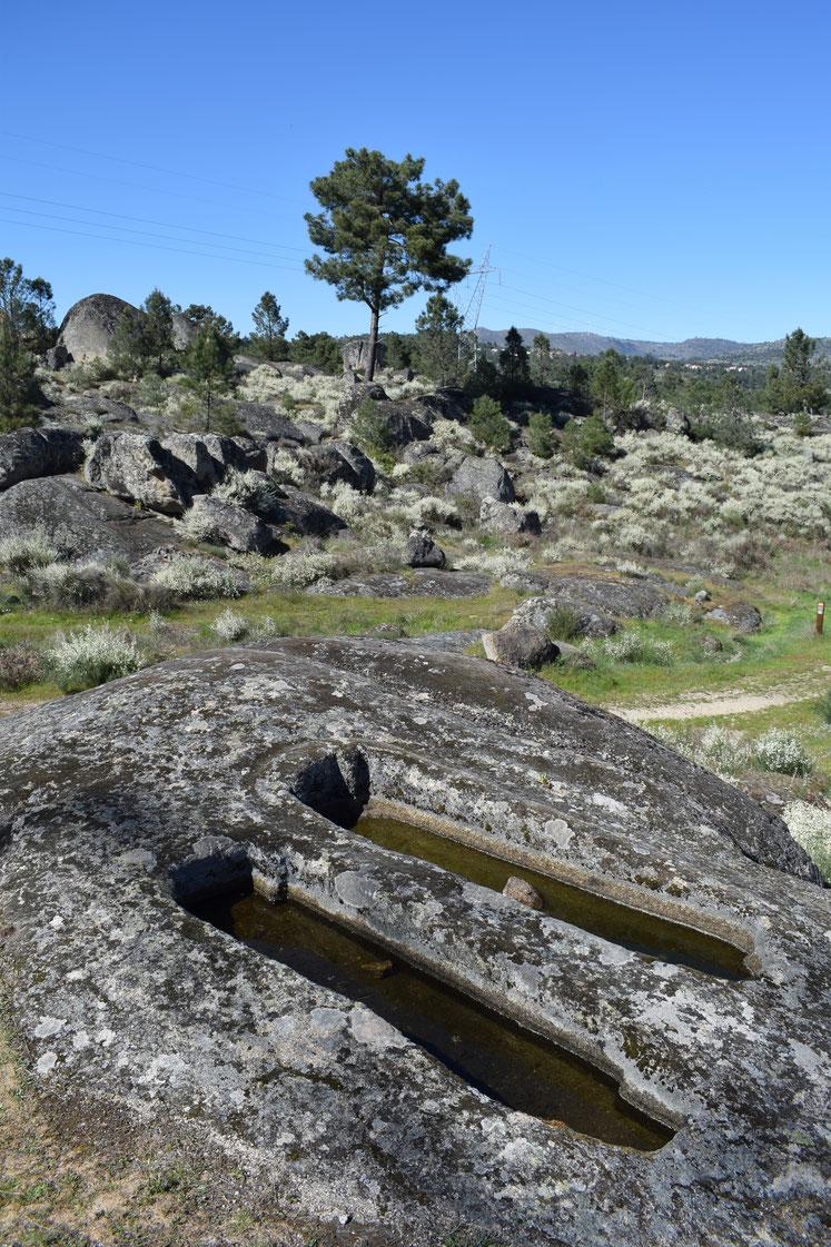 S. Gens near Celorico da Beira megalithic tombs