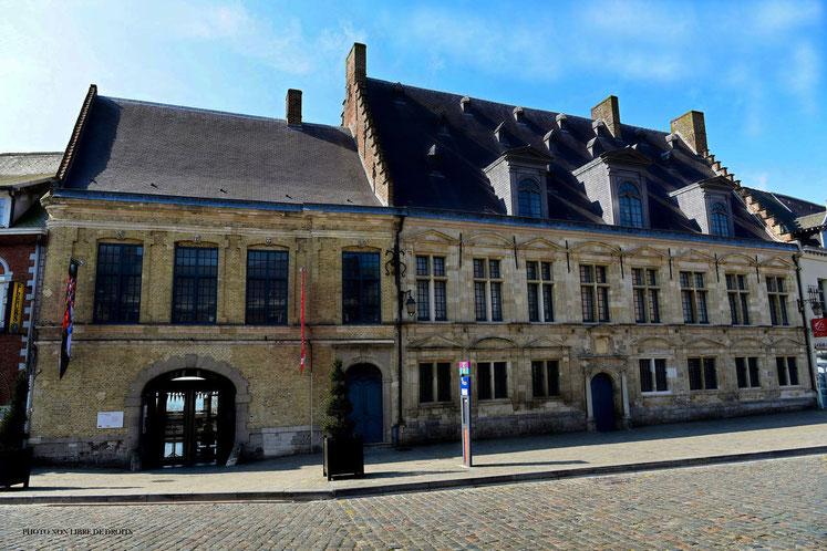 Hôtel de la Noble cour, Musée Départemental de Flandre, Cassel, photo non libre de droits