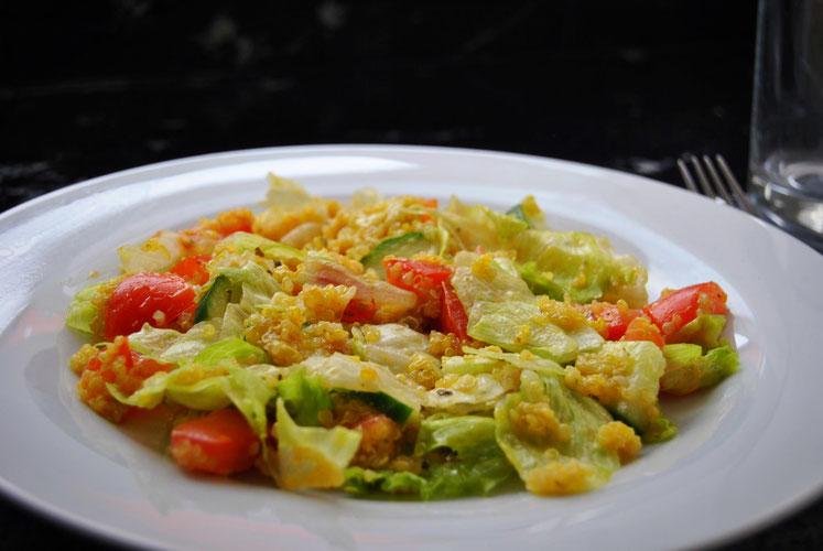 Detox Rezept Salat / Quinoa-Salat / Vegan /