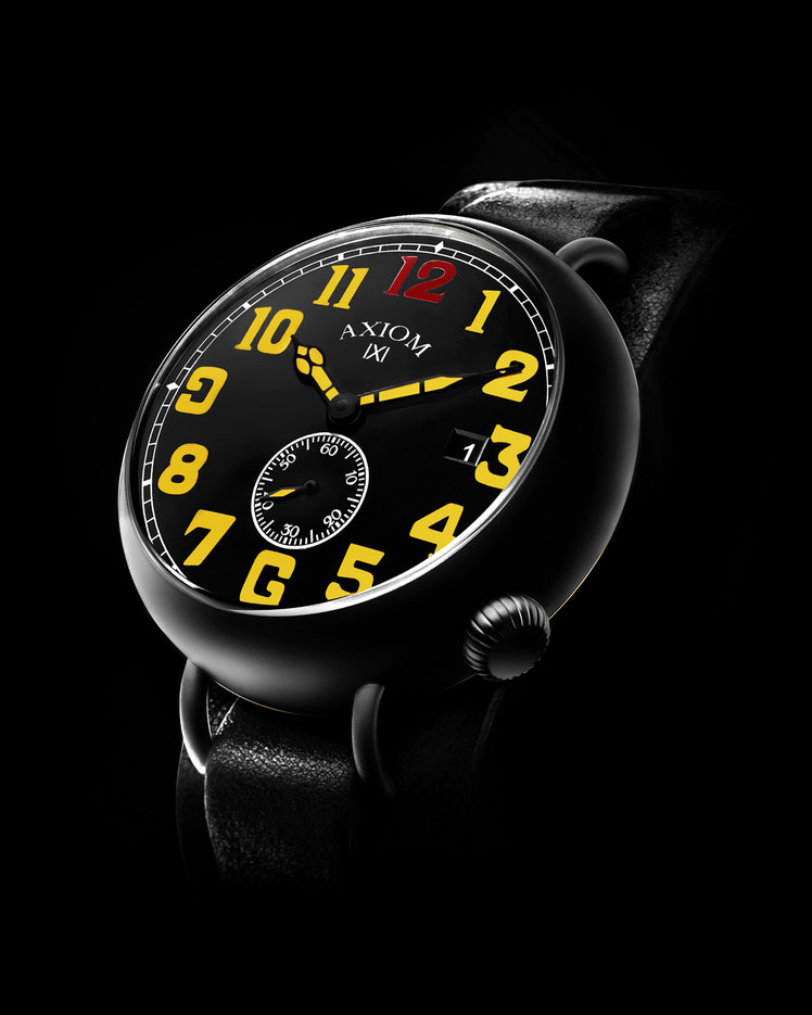 AXIOM LemonBurst NUIT DE VERDUN Automatic Watch Montre Automatique AXIOM France