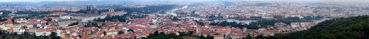 Praga, panorama da Wikipedia