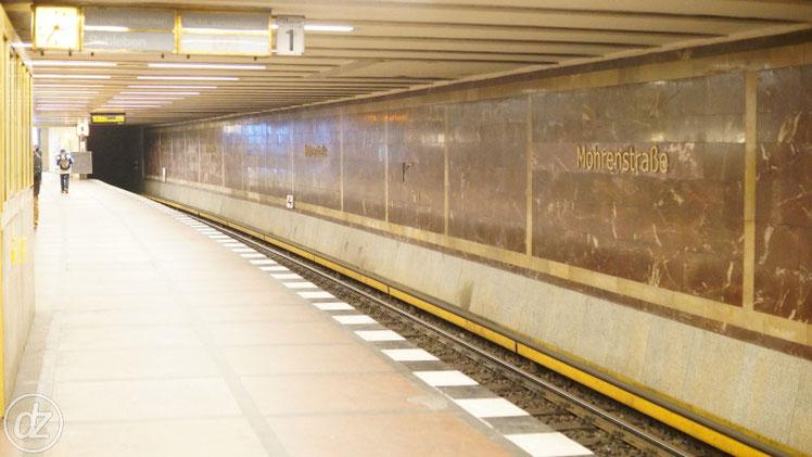 U-Bahn Station Mohrenstraße
