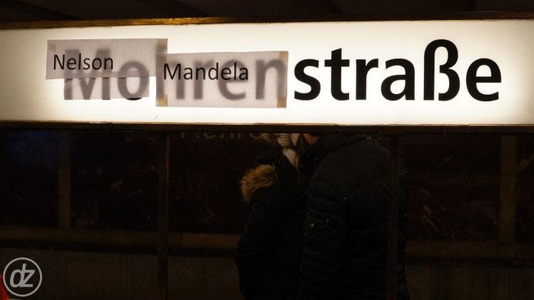 U-Bahnhof Nelson-Mandela-Straße - Ich finde den Vorschlag gut