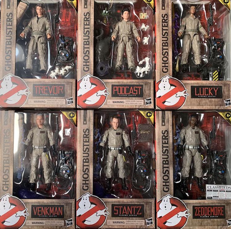 Ghostbusters Plasma Series Actionfiguren 15 cm 2020 Wave 1 komplett 6 Figuren Hasbro