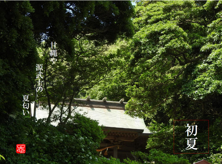2016/06/10 鎌倉 甘縄神社