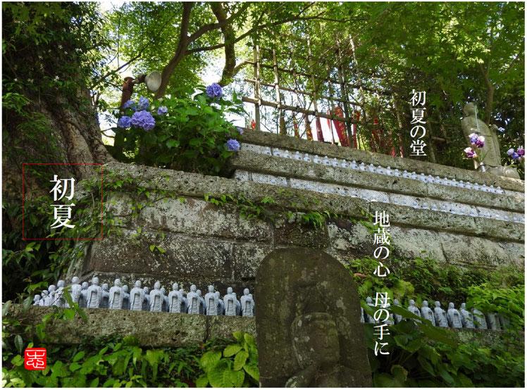 2016/06/10作句 鎌倉 長谷寺 地蔵堂