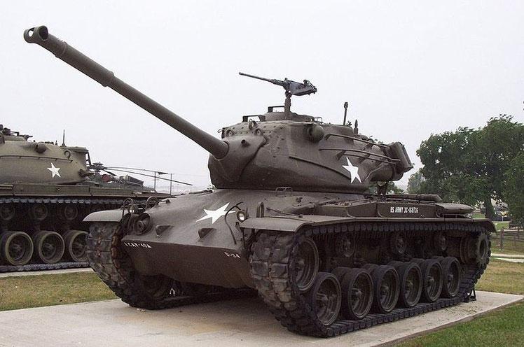 M47-Panzer wie diesen bekamen wir als Kinder häufiger zu sehen.