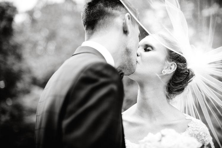 Hochzeitsfotografie im Stadtpark Peine