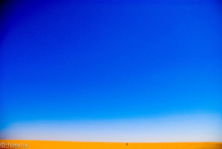 Militar custodiando el desierto. Norte de Mauritania.