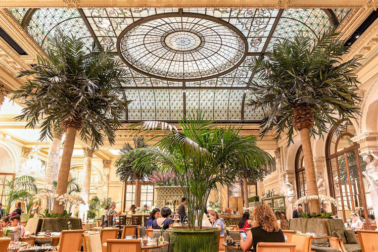 Afertnoon Tea,The Palm Court at the Plaza Hotel, New York
