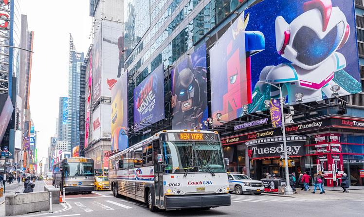 42ème rue, New York, Manhattan