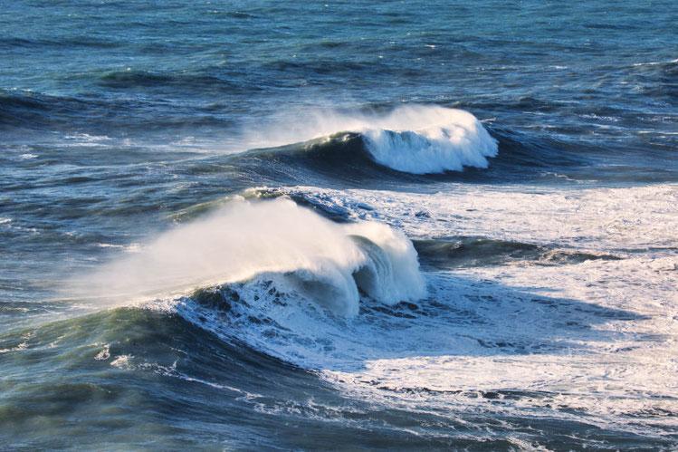 Die Wellen in Nazare