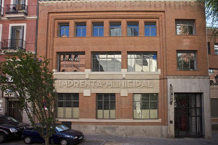 Museum für Buchkunst, Madrid, ehemals Druckerei, Foto: A. Vélez Celemín