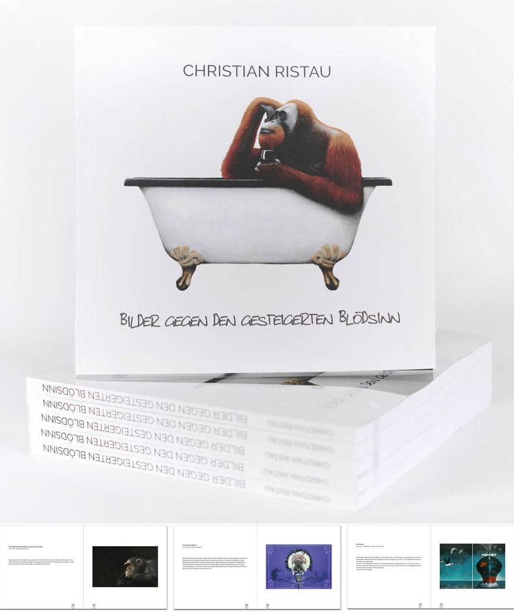 Kunst  - Katalog aus Ristau Bilder  12 Jahre Malerei