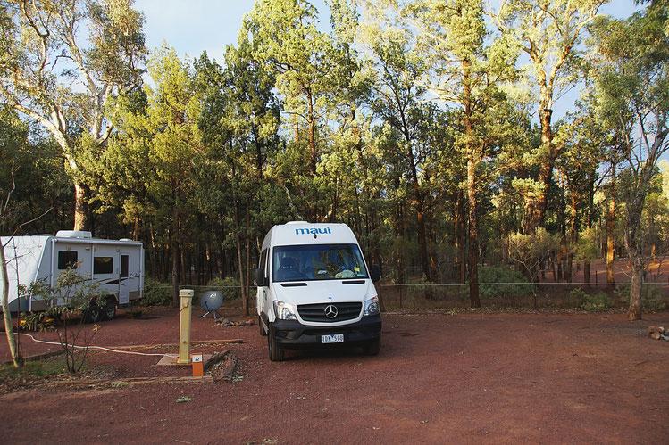Reiseplanung, Australien, Campingplatz