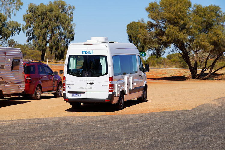 Reiseplanung, Australien, Camper