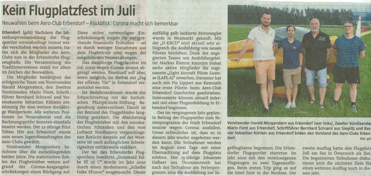 """Zeitung """"Der Neue Tag"""" vom 24.06.2021"""