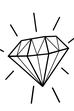 Figurtyp V ist auch bekannt als Diamant-Typ