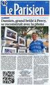 """Le Parisien 92 édition du 7 avril 2016 """"1ère exposition lgDAMSphoto : Le monde animalier"""""""