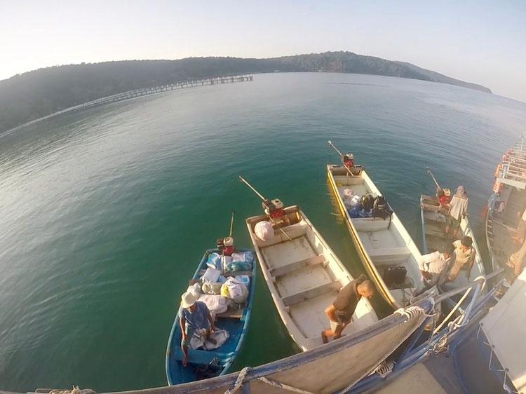 Verpflegungsboot