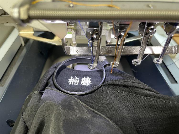 学生服・体操服への刺繍もお任せください!!