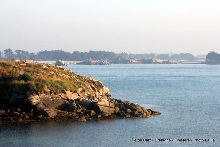 La mer a effacé les traces, la grève de Porz al liou retrouve sa tranquillité (Photo Chantal Bironneau Cabioch)