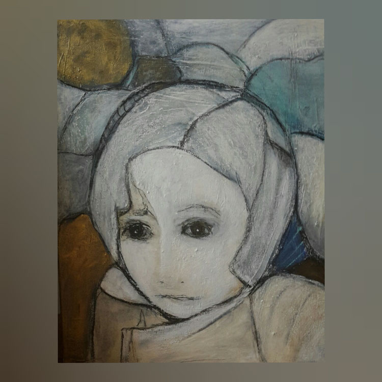 Acryl auf Leinwand/ 50x60 cm