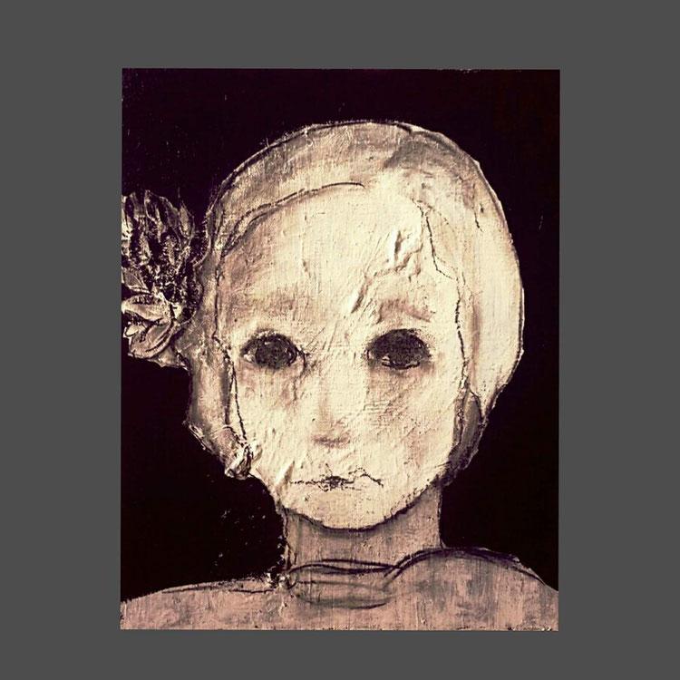 Acryl auf Leinwand/ 40x50 cm
