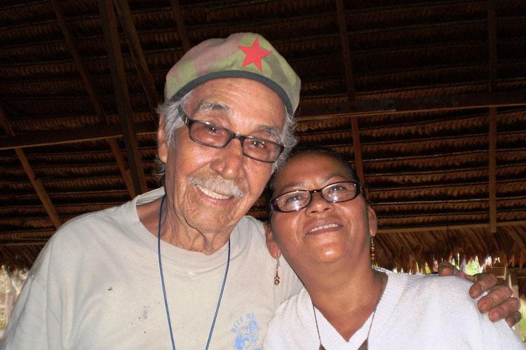 Don Agustin und Dona Marlene