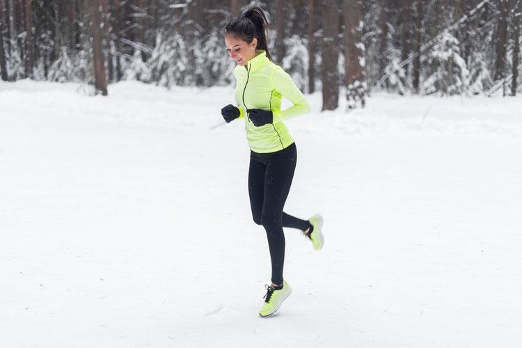 Laufen im Schnee mit Personaltrainer und Skilehrer in Berlin