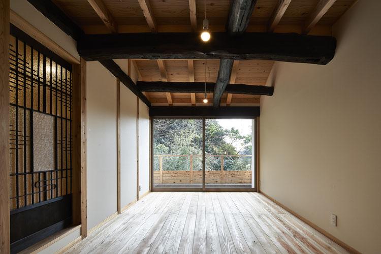神奈川 鎌倉 長屋 古材 古民家 真壁 古民家再生 木造