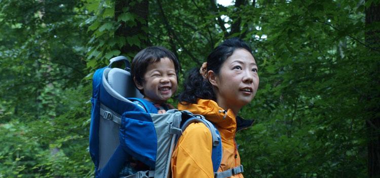 アウトドアナビゲーター、温泉ソムリエの渡部郁子です。子連れでお仕事しています。