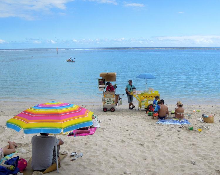 Die Strände von La Réunion locken mit hellstem Sand. Foto: C. Schumann, 2016