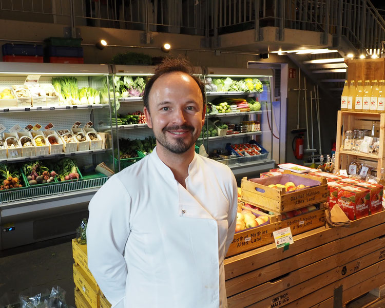 "Chefkoch Thomas Sampl ist ""Erfinder"" des Hobenköök. Foto: C. Schumann 2019/2020"