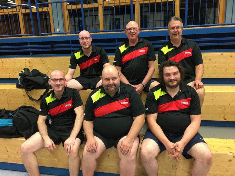 Die Herrenmannschaft des TTC Egenhausen