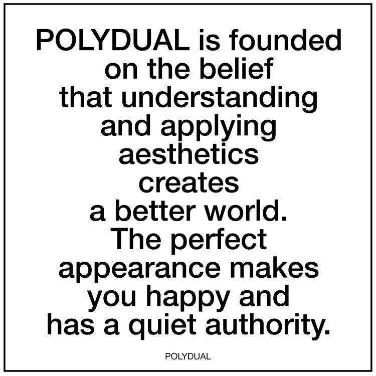 Ästhetik und eine stille Autorität machen dich glücklich.