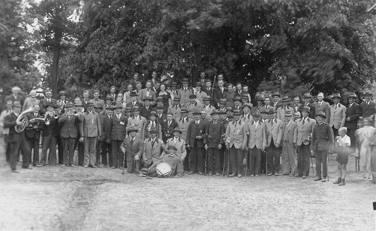 Schützenverein Garßen e. V. von 1891 - Gruppenbild Schützenfest 1939