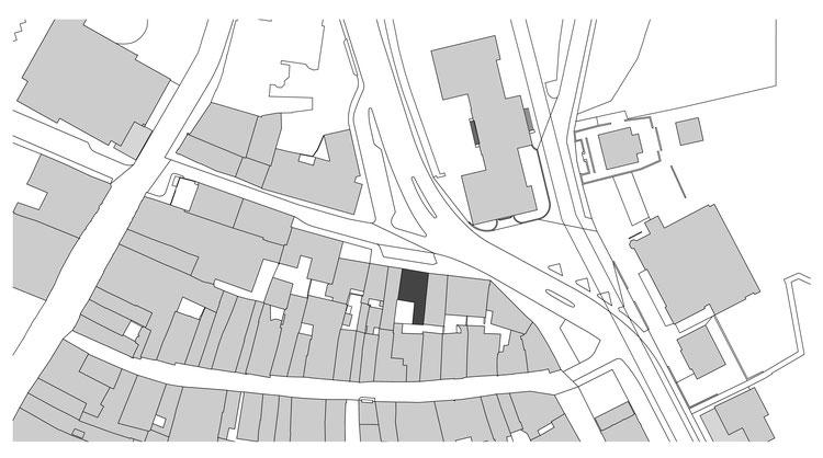 Umbau Altstadtliegenschaft in Schaffhausen, Haus zum hinterne Rosengarten