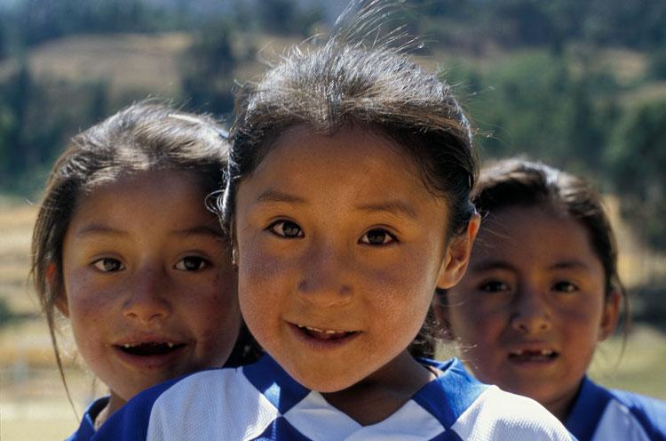 Peru, Wicahuain, Schulsport, Fussball