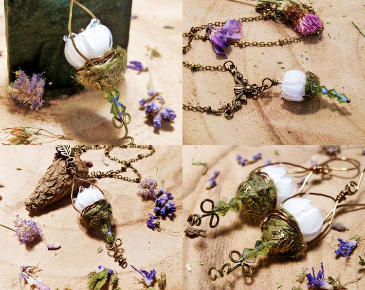 top 10 fantasy sieraden voor Outlander fans druide flower lantern sieraden