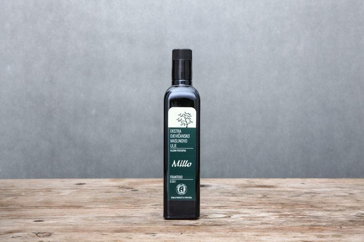 Agro Millo Kroatien Olivenöl Frantoio Istrien Erten 2018