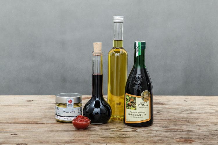 kürbisöl olivenöl senf ketchup feinkost reinbek ohe aumühle dassendorf