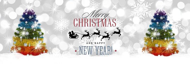 Frohe Weihnachten und ein glückliches neues Jahr 2018 / Merry ...