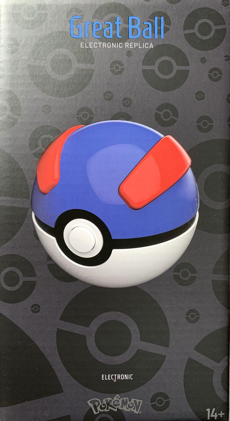 Superball 1/1 Life Size Pokémon Diecast (Great Ball) Replik Wand Company
