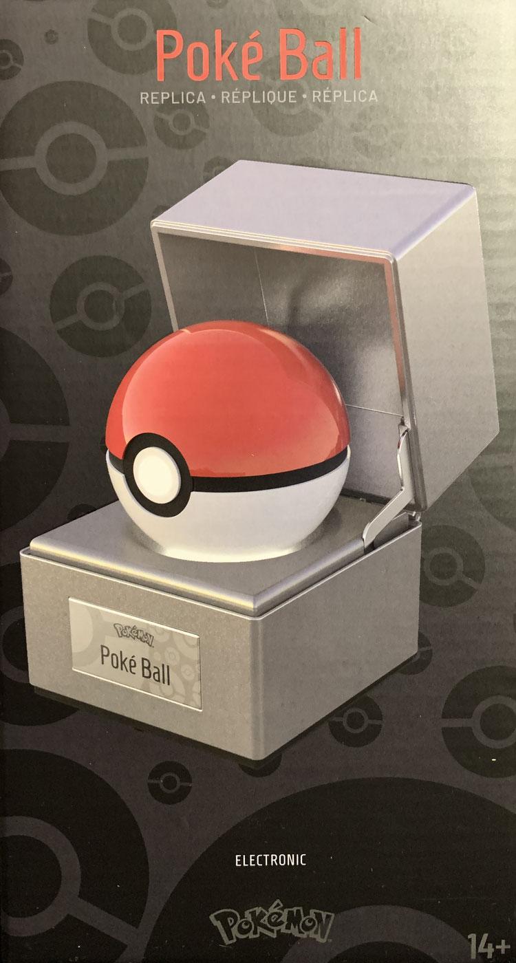 Pokéball 1/1 Life-Size Pokémon Diecast Metall Replik beleuchtet 10cm Wand Company