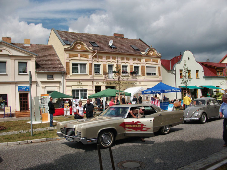 Oldtimerparade in Letschin